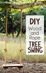 Rustic Tree Swing Tutorial