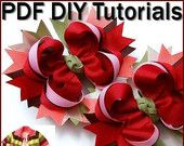 Items similar to Instant Download - Make Boutique Hair Bows (ALL Sizes) Instructions - Tutorials - Premium Edition on Etsy