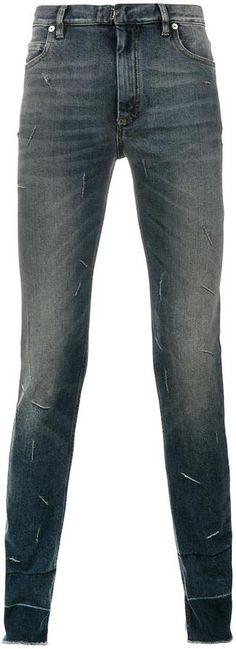 Maison Margiela distressed effect skinny jeans
