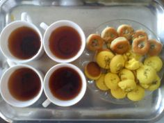 Sweets Kermanshah with tea is awesome (persian dessert )