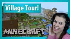 Minecraft Bedrock Update! Minecraft ZA public realm tour! Xbox One gameplay!
