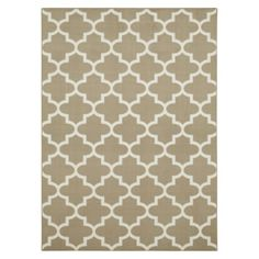 LIVING ROOM - Maples Fretwork Area Rug - 5 x 7 - Tan - $80.  http://www.target.com/p/maples-fretwork-area-rug/-/A-14318370?reco=Rec|pdp|14318370|ClickEV|item_page.new_vertical_1=Rec|pdp|ClickEV|item_page.new_vertical_1