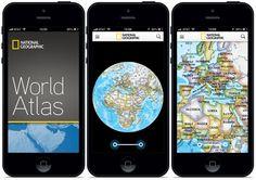 National Geographic World Atlas dla iPhone'a i iPada.