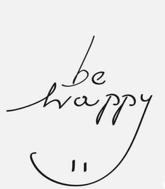 Turkish: Mutlu ol