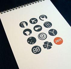travel icon 2011 calendar