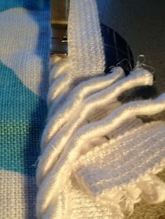 Sew Passionate: Joining Decorative Cord (a better tutorial than the other one I have pinned!)