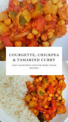 Tamarind Recipes, Vegan Meringue, Delicious Deserts, Vegan Curry, Food Waste, Garam Masala, Chickpeas, Sustainable Living, Zucchini