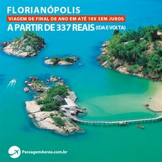 Procurando um destino em promoção para viajar no final do ano?  Saiba mais: https://www.passagemaerea.com.br/promocao-florianopolis-2015.html