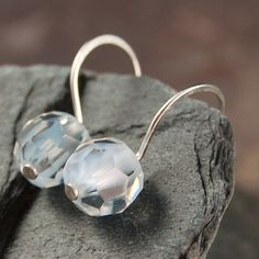 Ice Blue Swarovski crystal earrings  on sale $15.95
