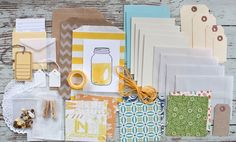 Mish Mash: Yellow Jar Kit & sample projects.....