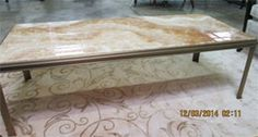 Baker Marble Top Coffee Table