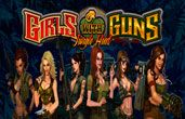 It goes without saying that the theme of the game is quite unique and although there is no bonus, Girls with Guns slot machine is packed with all the kinds of features you would expect in an interesting game. First and most importantly, the game is all about women-women with firearms. The tactical team of women is out there looking for a dictator. They make their way through a rainforest.