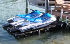 floating seadoo dock