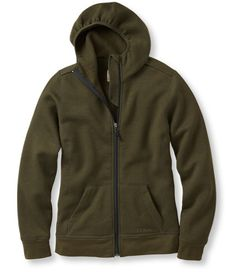 Merino Wool Hooded Sweatshirt: Fleece Tops and Sweatshirts   Free Shipping at L.L.Bean