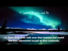 Surah Al-Noor FULL سُوۡرَةُ النُّور Sheikh Mishary Rashid Al Afasy - English & Arabic Translation - YouTube