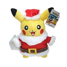Santa Claus Pikachu Cosplay Plush Toy  #PikachuPlush #PikachuPlushToy #Plush #PlushPikachu #PlushToy #PokemonPlush #PokemonPlushPikachu #PokemonPlushToys #Red #RedWhite #SantaClausPikachu #SantaClausPikachuCosplayPlushToy #White #Yellow