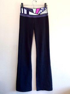 Lululemon Athletica Technical Gear Yoga Pants Women's 4 Tall  | eBay