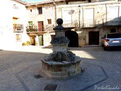 Fuente en Zaorejas, Guadalajara - España  www.portalguada.com PortalGuada Guadalajara  Situación: 40°45′40″N 2°12′8″O