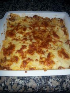 Pastel de carne, piñones y queso para #Mycook http://www.mycook.es/receta/pastel-de-carne-pinones-y-queso/