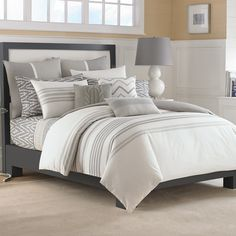 Nautica Margate Bedding from BeddingStyle.com @beddingstyle
