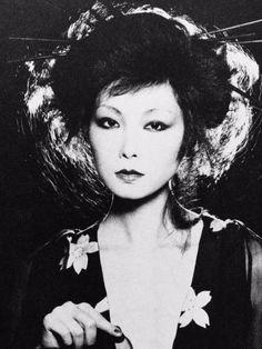 Yamaguchi Sayoko 山口 小夜子 (1949-2007) - Japan - 1978... - Nippon-Graph