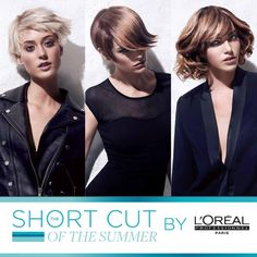 Short Cut by Summer de L'oreal, nuevas tendencias para esta temporada...