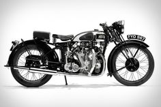"""redjeep: """"skootdawg: 1939 VINCENT HRD SERIES-A RAPIDE MOTORCYCLE The truth is, some family heirlooms are better than others, and it's likely this one's better than what you've got waiting for you. This 1939 Vincent HRD Series-A Rapide Motorcycle has. Charlotte Mckinney, British Motorcycles, Vintage Motorcycles, Custom Motorcycles, Vintage Cycles, Vintage Bikes, Scooters, Vincent Black Shadow, Vincent Motorcycle"""