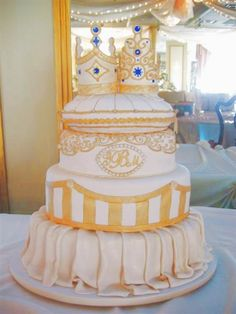 Inspired by one of Carlos Bakery's most popular cakes, this wedding cake is fit for a Prince and Princess!