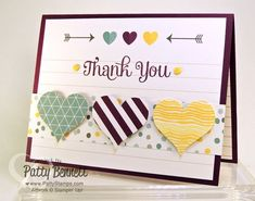 Use a Project Life card to make a quick and easy greeting card!  Happiness Is Project Life card kit from Stampin' Up!.  by Patty Bennett