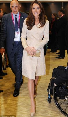 The Duchess of Cambridge recycled a coat dress by DAY Birger et Mikkelson that she wore to Zara Phillips' wedding last year