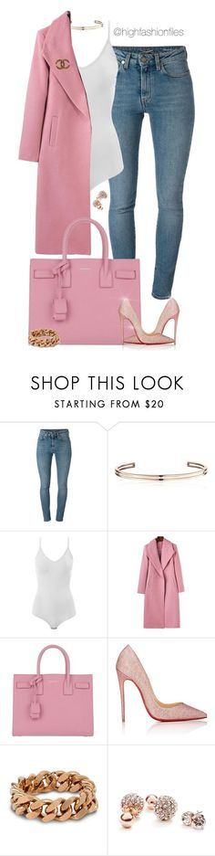 """Untitled #2721"" by highfashionfiles ❤ liked on Polyvore featuring Yves Saint Laurent, Vita Fede, Intimissimi, Christian Louboutin, STELLA McCARTNEY, GUESS and Chanel"
