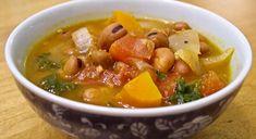 Ful Nabed- Egyptian Fava Bean Soup (VEGAN)