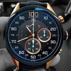 Carrera Mikrograph Avant Garde original by Tag Watches, Cool Watches, Watch Master, Skeleton Watches, Dream Watches, Classy Men, Luxury Watches For Men, Smartwatch, Men's Watches
