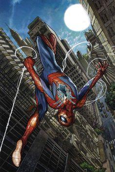 Amazing Spider-Man #1.3 by Simone Bianchi *