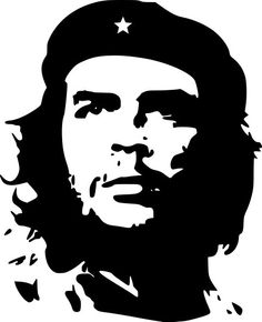 Arts: This picture was painted by Jim Fitzpatrick. He made this piece after the Cuban revolution of Che Guevara. This piece became a very popular piece of art in the century. Andy Warhol, Che Guevara Tattoo, Stencil Art, Stencils, Che Quevara, Jim Fitzpatrick, Arte Do Hip Hop, Ernesto Che, Revolutionaries