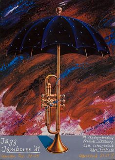 International Jazz festival Poster, Date: 1981, Poster Country: Poland, Designer: Rafal Olbinski.
