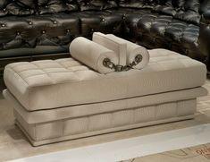 Visionnaire IPE Cavalli Lavinia Luxury Italian Designer Fabric Bench