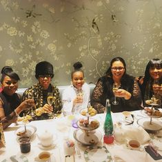 Ladies lunching; Afternoon Tea at Bergdorf Goodman; Millennials and Boomers