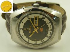MECHANICAL RICOH AUTOMATIC JAPANESE MENS D/D WATCH~WARRANTY ON ALL PRODUCTS~ #Collectible