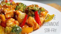 Rychlé zeleninové stir-fry | Kristina Čechová