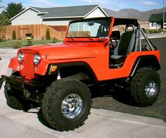 lost interest in this project so it's up for sale. I'm the second owner of this jeep. my father bought it new so I have been around this thing my Two Door Jeep Wrangler, Cj Jeep, Jeep Mods, Jeep Truck, Jeep Willys, Ford Trucks, Jeep Ika, Orange Jeep, Jeep Brand