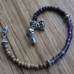 Buddha Bead Bracelet / Anklet by ChineseMedicineLivin on Etsy
