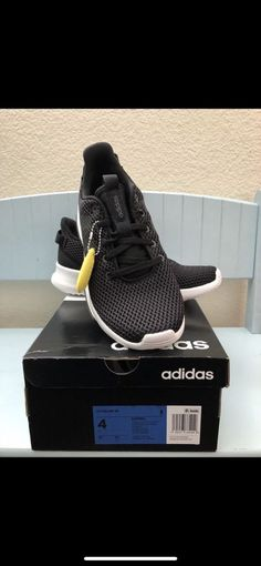 Adidas CF RACER TR kids size 4  fashion  clothing  shoes  accessories   c6dc67537
