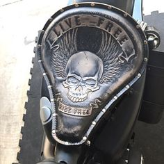 Items similar to Made to order! Handmade Custom Leather Chopper/Bobber Solo Seat on Etsy Motorcycle Seats, Motorcycle Leather, Bike Seat, Bobber Motorcycle, Motos Bobber, Bobber Chopper, Bobber Bikes, Honda Bobber, Custom Bobber