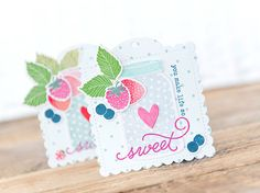 You Make Life So Sweet - Papertrey Ink Challenge - Paper Girl Crafts