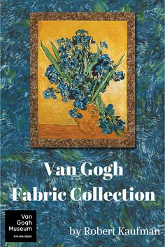 Robert Kaufman proudly presents the first fabric collection in collaboration with the Vincent van Gogh Museum. Centered around van Gogh's Arles with Iris and Irises in Vase these fabrics offer a true artist's palette of colors and textures. Printed on a premium 44 inch wide cotton.