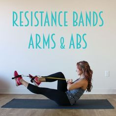 Now you ladies know I love my resistance bands for a great at home workout…and I wanted to give you a NEW arms and abs workout using only the resistance bands. My Resistance Bands Ab Workout from last year is still one of the most popular workouts on the blog so I thought I would give you a …