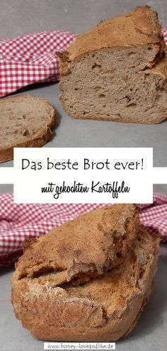 Das beste Brot ever! Weight Watchers Kartoffelbrot Today there is the best bread ever! The Weight Watchers large potato bread is made with boiled potatoes. So if you have potatoes left over from lunch, just bake some bread! Benefits Of Potatoes, Gimme Some Oven, Potato Bread, Just Bake, Keto, Dessert Bread, Banana Bread Recipes, Different Recipes, Grilling Recipes