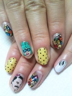 Gaga + Freddie Mercury nails