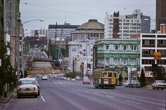 1970 - La Trobe St Melbourne Melbourne Tram, Melbourne Central, Melbourne Suburbs, Time In Australia, Melbourne Australia, Melbourne Victoria, Victoria Australia, Van Diemen's Land, Airlie Beach